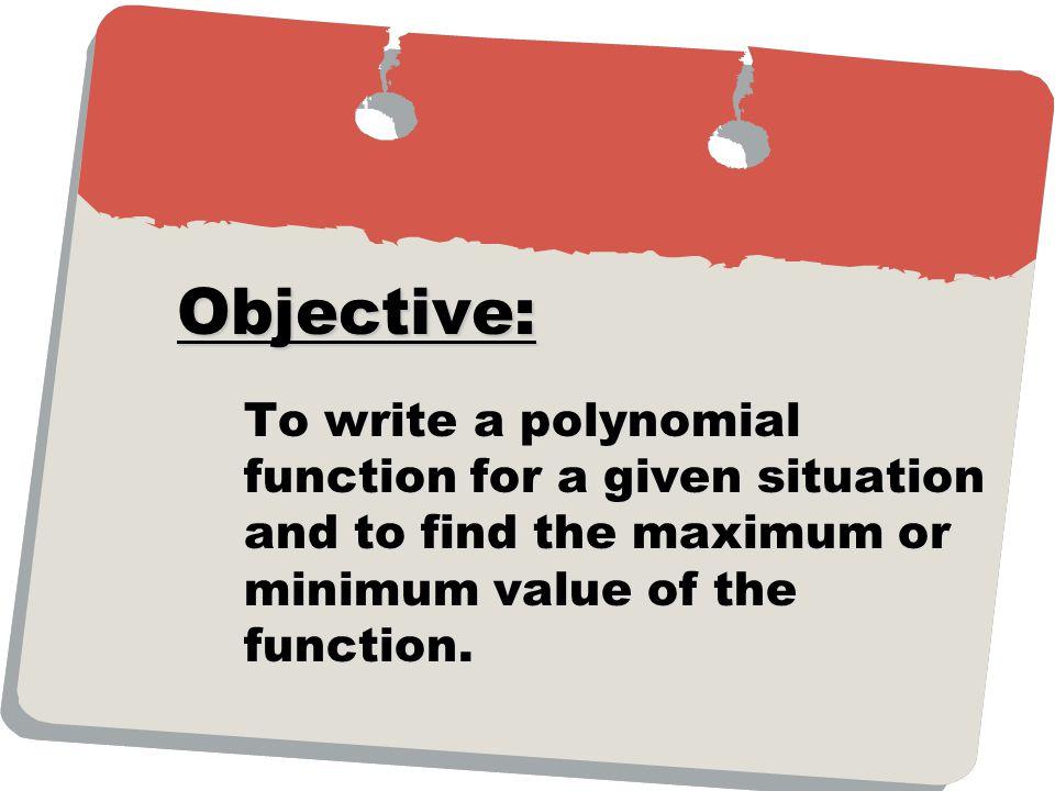 : For quadratic functions: