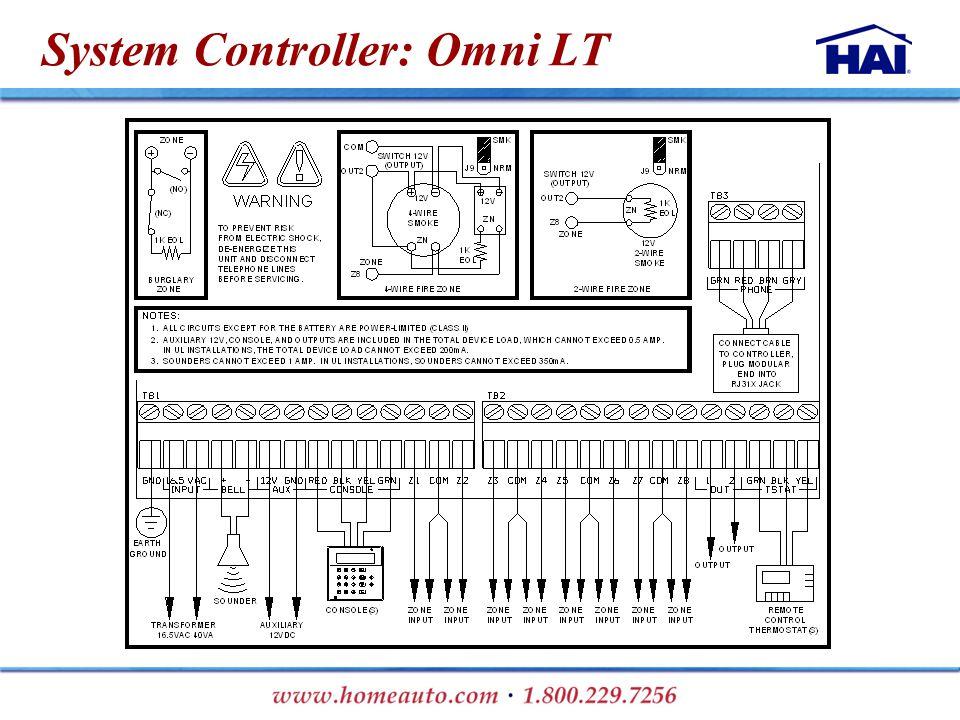 System Controller: Omni LT