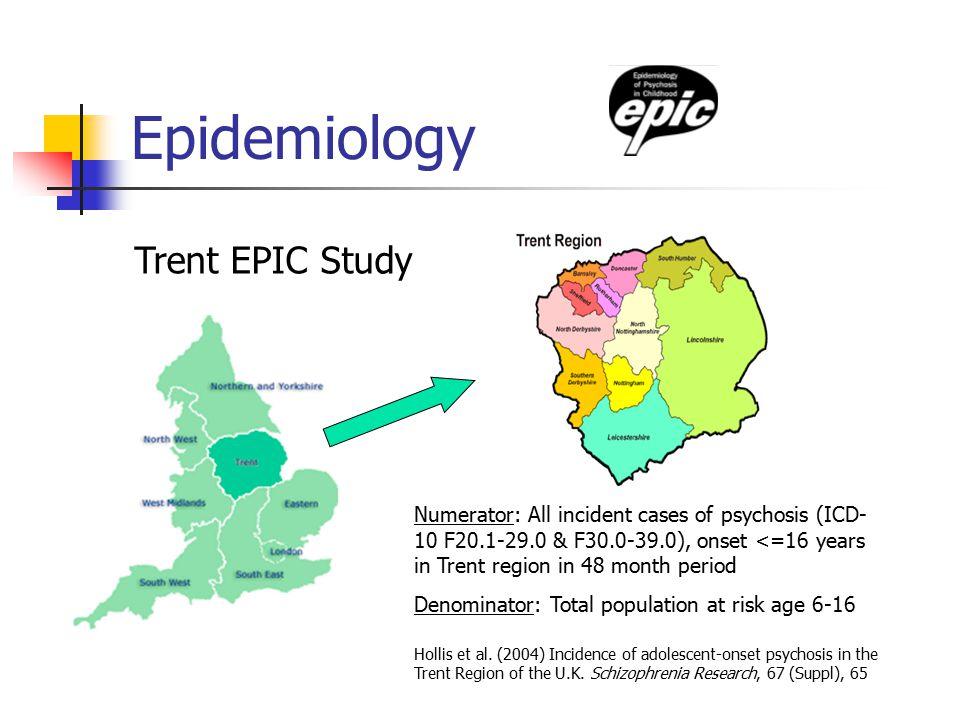Epidemiology Trent EPIC Study Hollis et al.