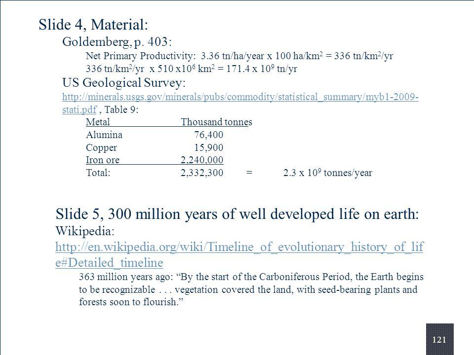 121 Slide 4, Material: Goldemberg, p.