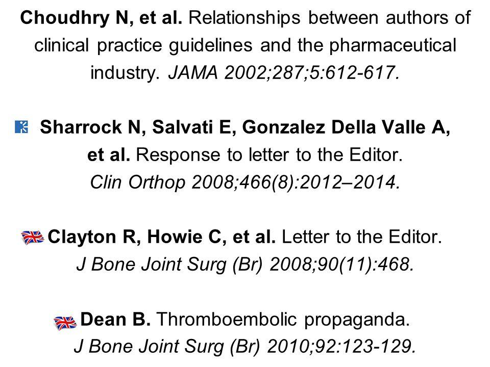 Choudhry N, et al.