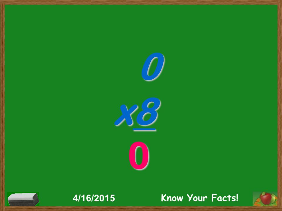 0 x8 0 4/16/2015 Know Your Facts!