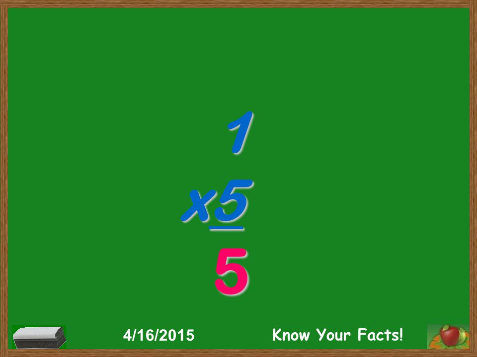 1 x5 5 4/16/2015 Know Your Facts!