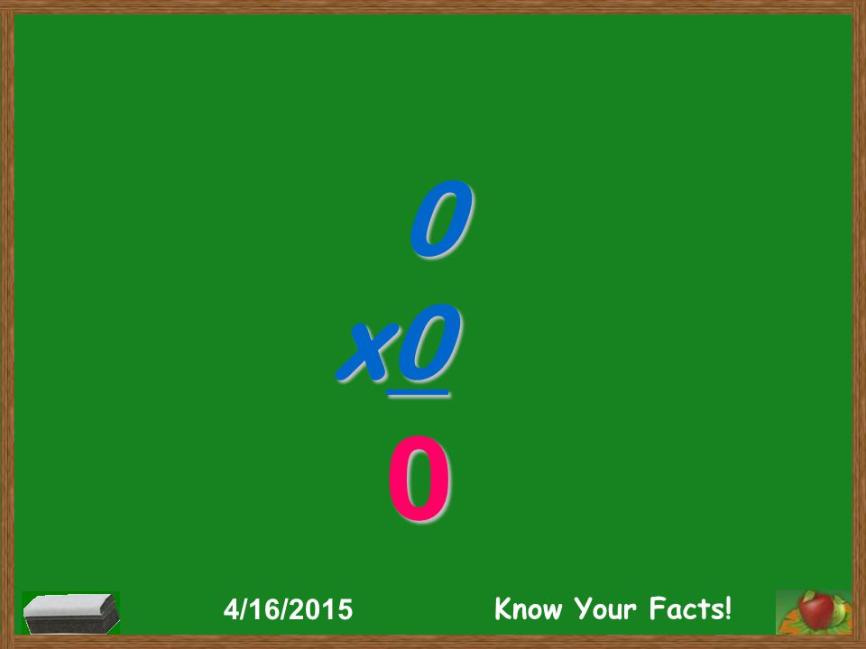 0 x0 0 4/16/2015 Know Your Facts!