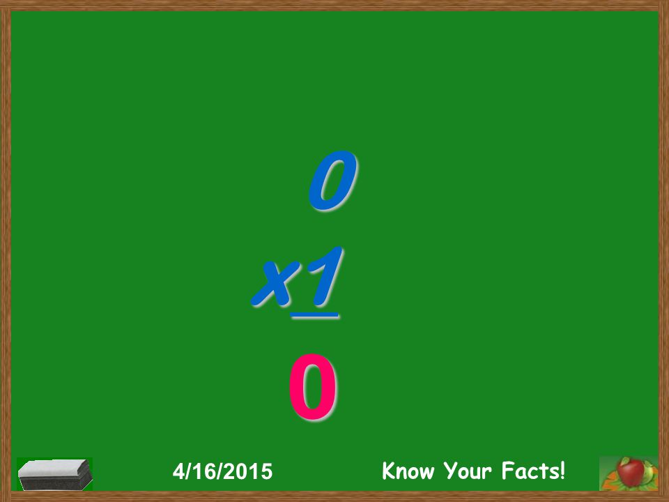 0 x1 0 4/16/2015 Know Your Facts!