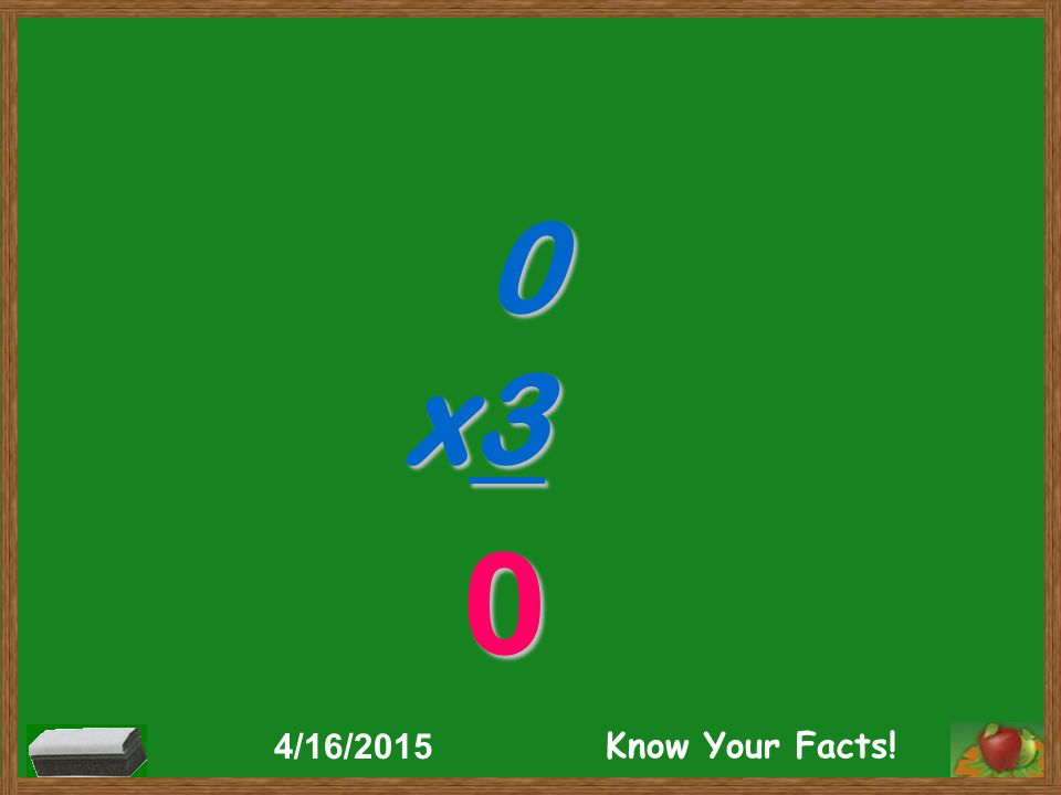 0 x3 0 4/16/2015 Know Your Facts!
