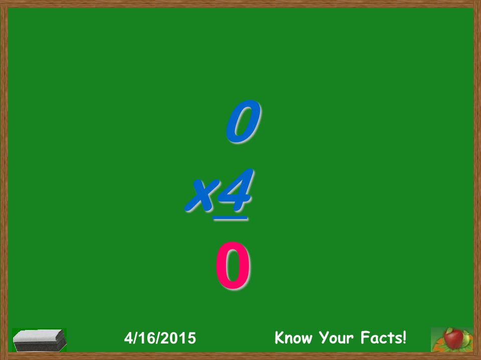 0 x4 0 4/16/2015 Know Your Facts!