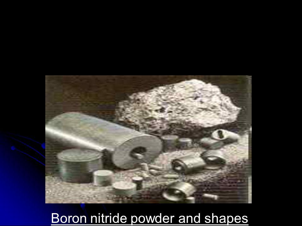 Boron nitride powder and shapes