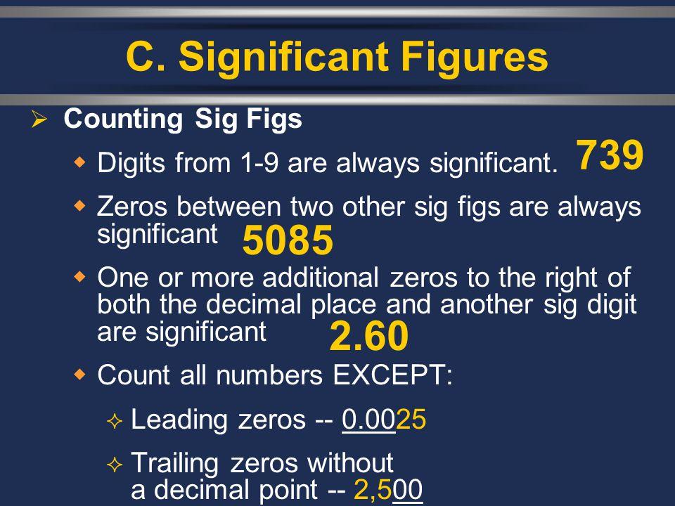 I II III III. Dimensional Analysis Conversion Factors Problems CH. 2 – MEASUREMENT