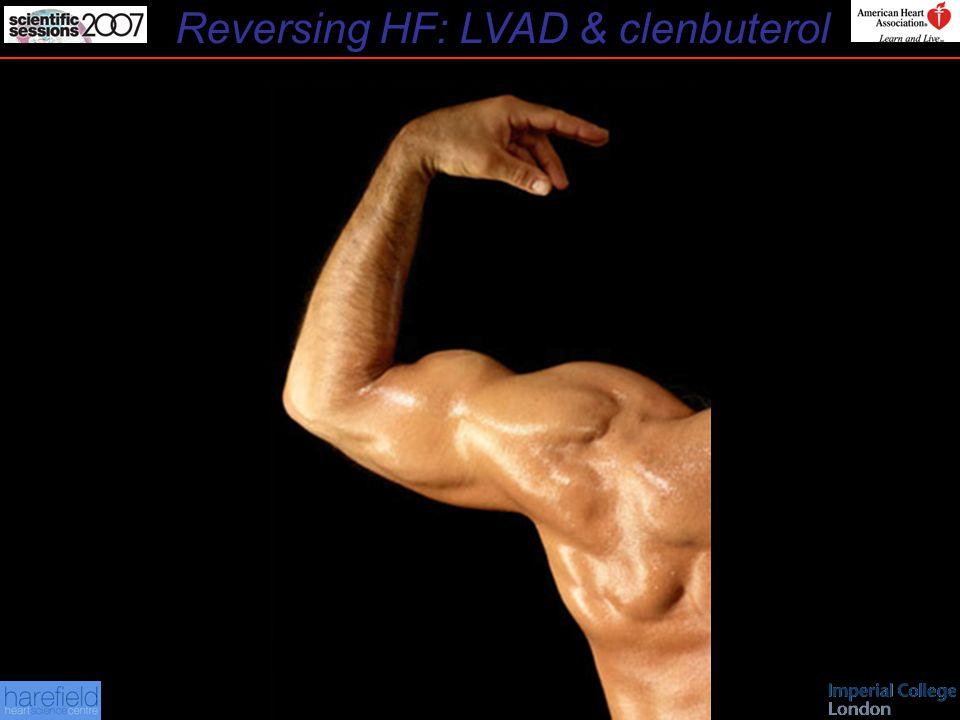 Reversing HF: LVAD & clenbuterol