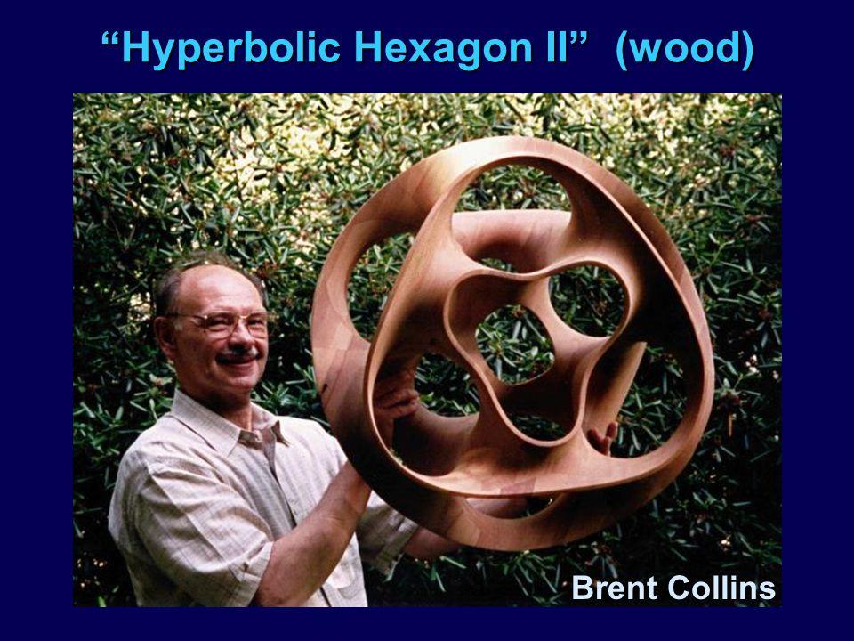 Hyperbolic Hexagon II (wood) Brent Collins