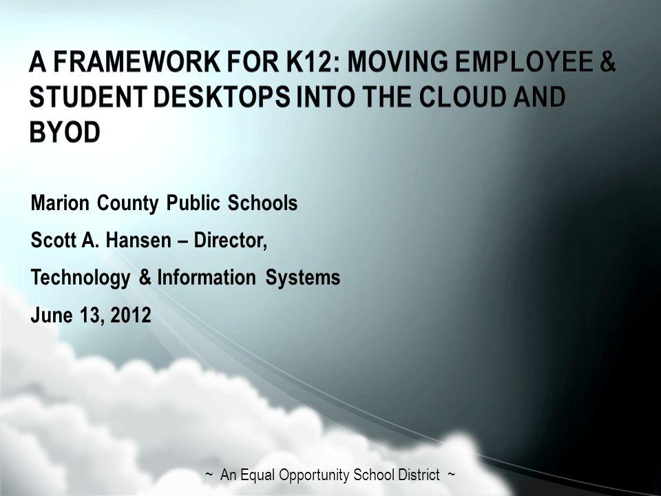 Marion County Public Schools Scott A.