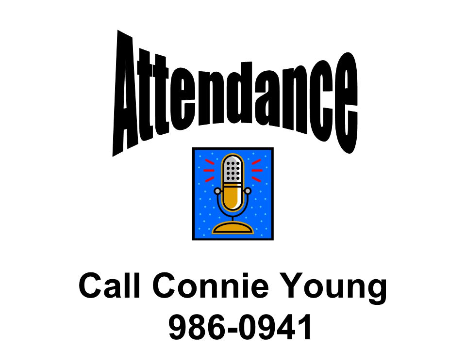 Call Connie Young 986-0941