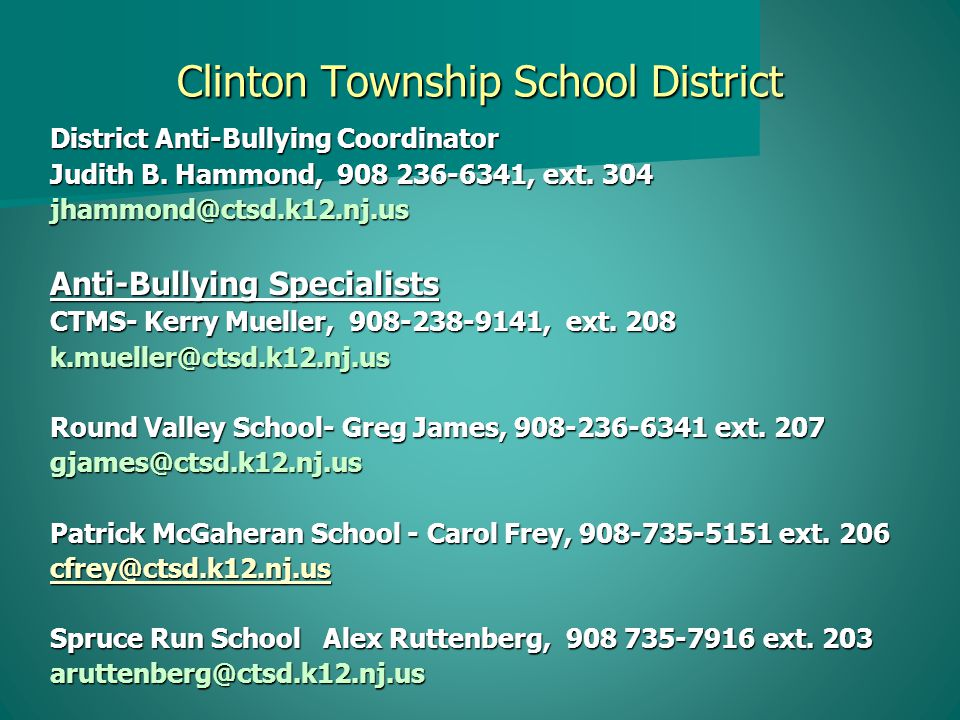 HIB Prevention Parent University How Do You Know Your Child is Being Bullied.