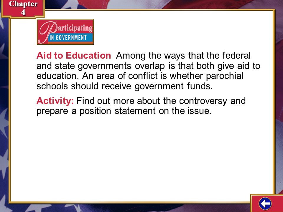 Participating in Government 4-1a Aid to Education How Lobbyists Influence Lawmakers