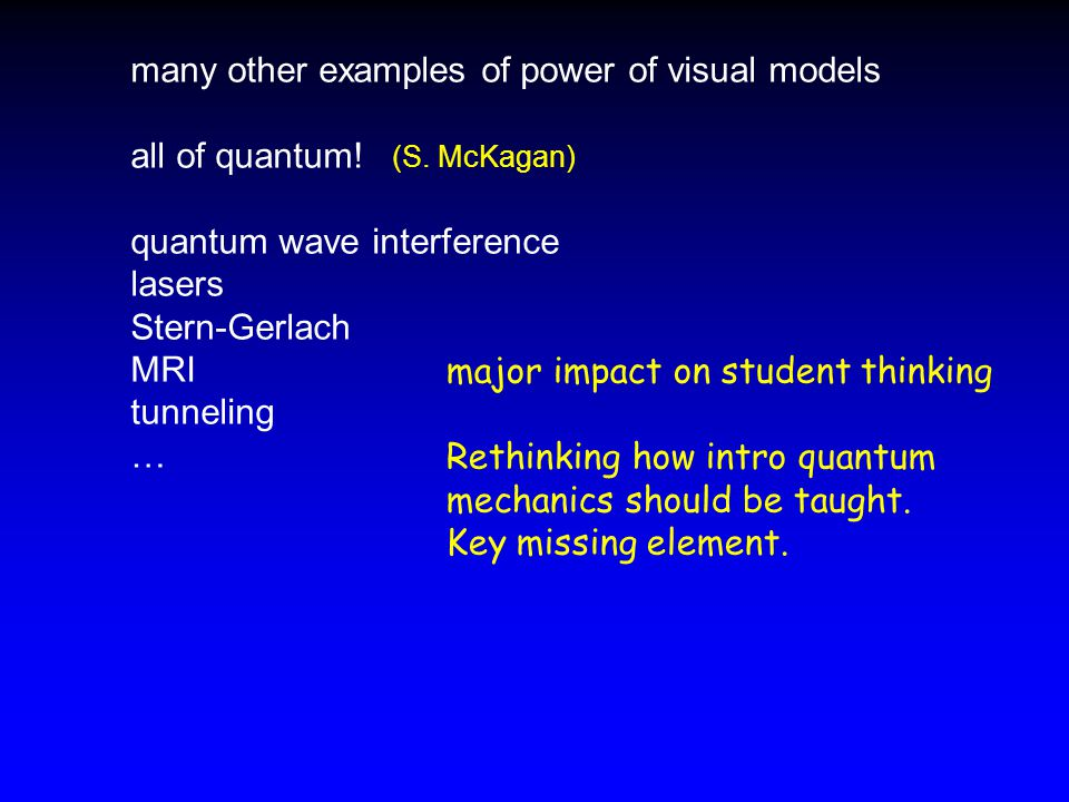 many other examples of power of visual models all of quantum.