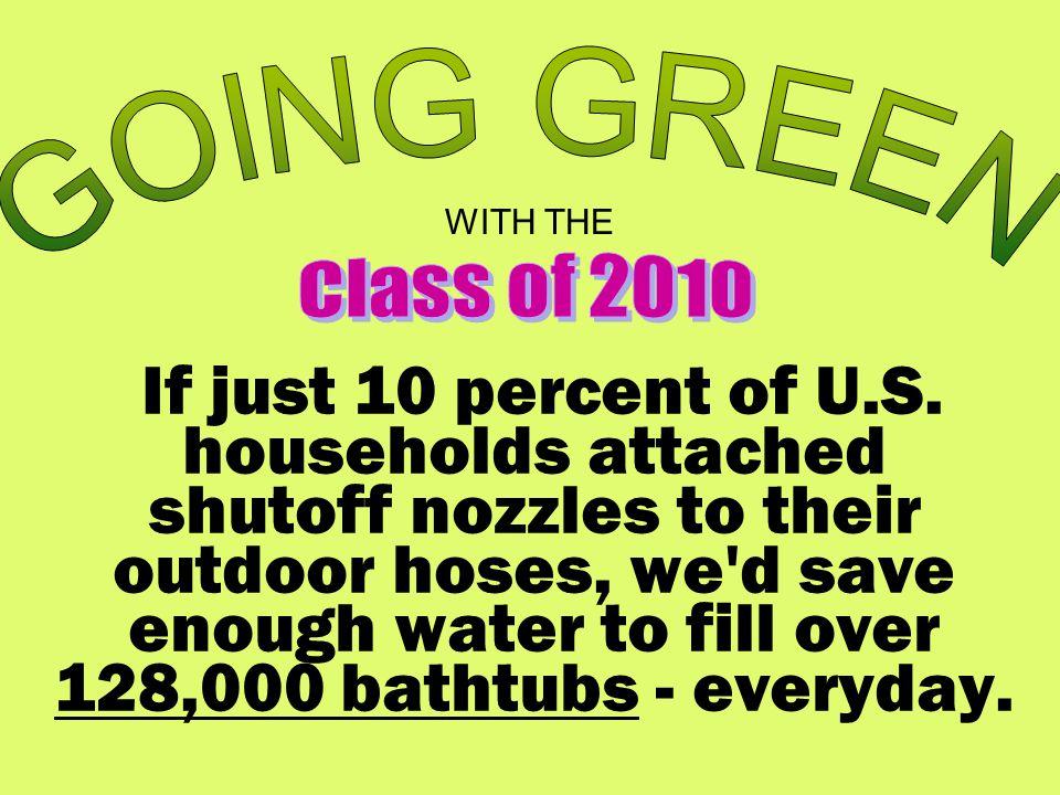 If just 10 percent of U.S.