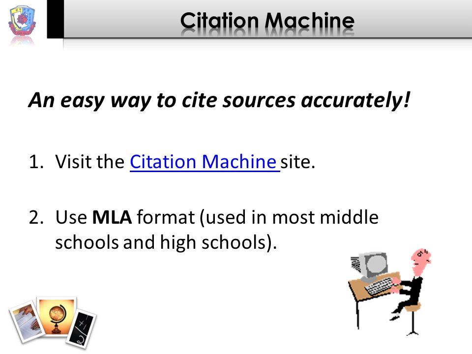 An easy way to cite sources accurately.
