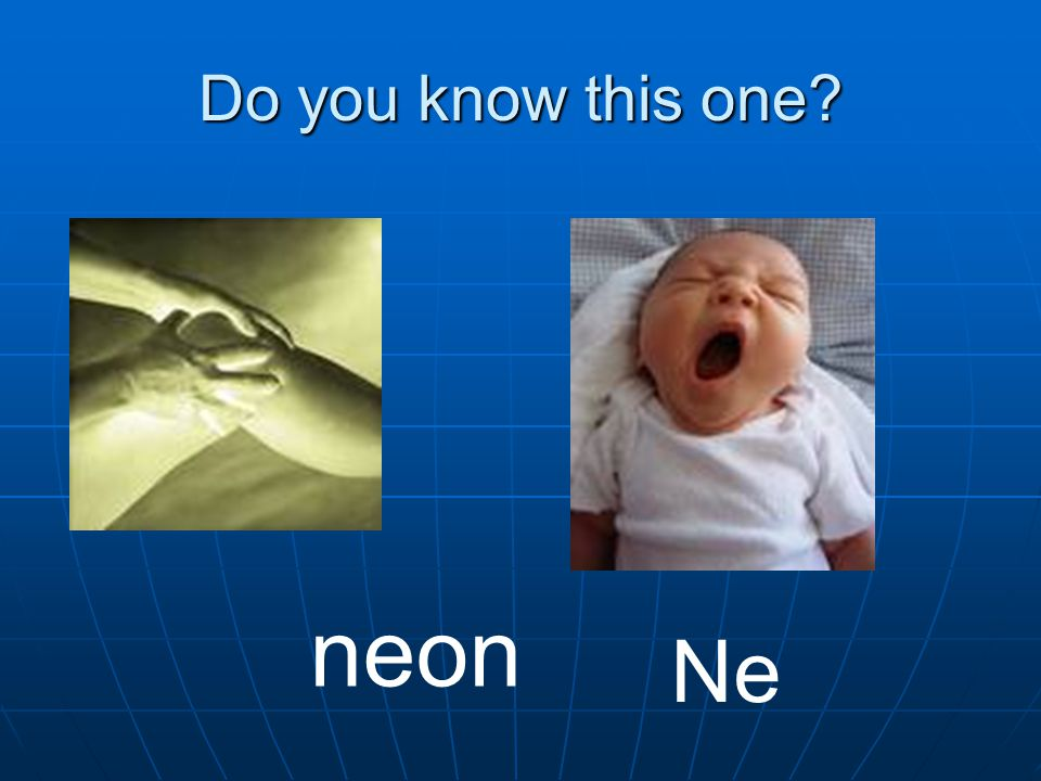 Do you know this one? neon Ne