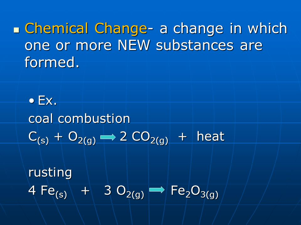 Evidence of Chemical Change 4 indicators of chemical reaction: 4 indicators of chemical reaction: 1.