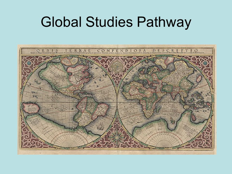 Mission Daily, intentional focus on world awareness Emphasis on students identifying themselves as global citizens Preparation to live and work productively in a global environment Appreciation that all cultures/countries make world contributions