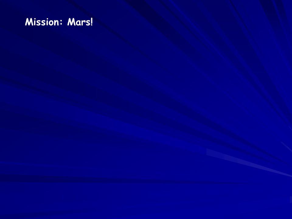 Mission: Mars!