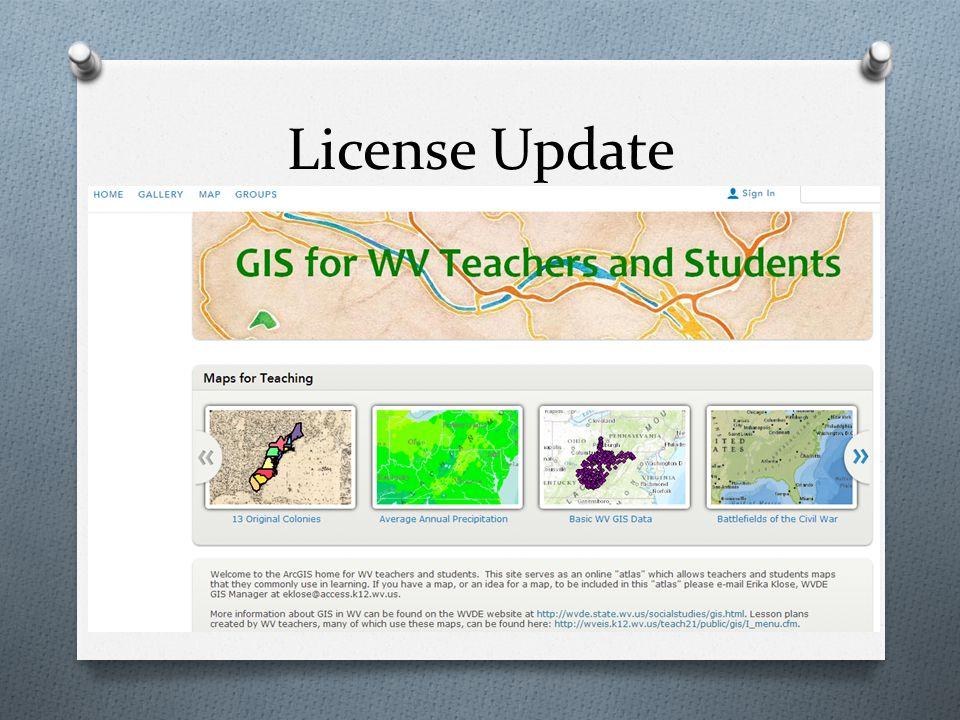 License Update