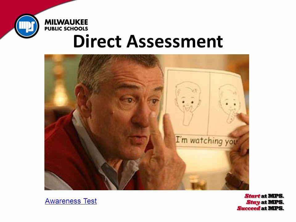 Direct Assessment Awareness Test