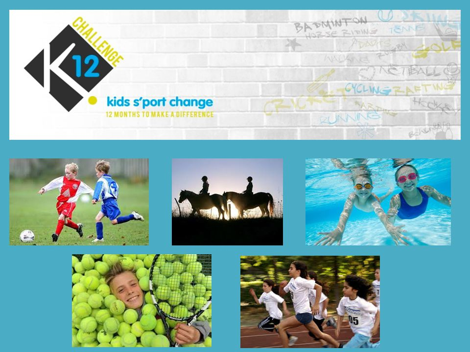 What is the K12 challenge.The idea is that 100 groups of kids will each raise £1000.