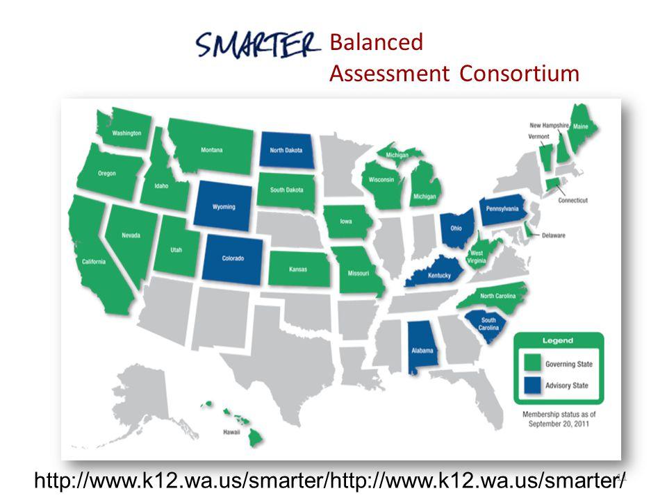 11 Balanced Assessment Consortium http://www.k12.wa.us/smarter/http://www.k12.wa.us/smarter/