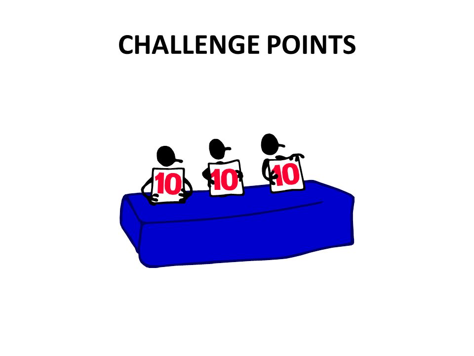 CHALLENGE POINTS