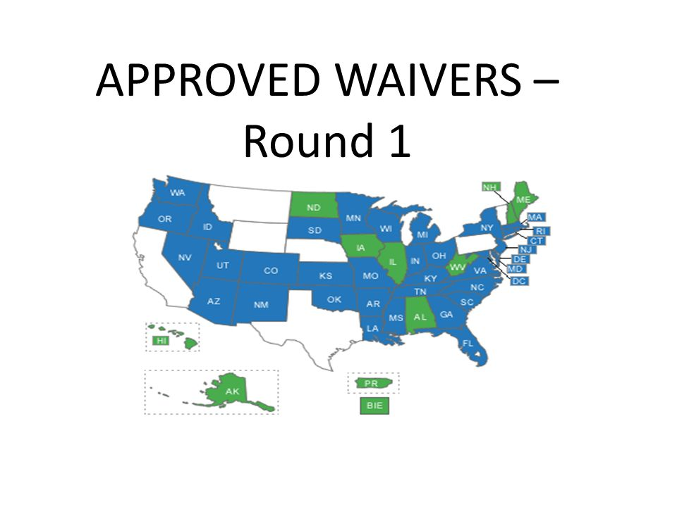 APPROVED WAIVERS – Round 1