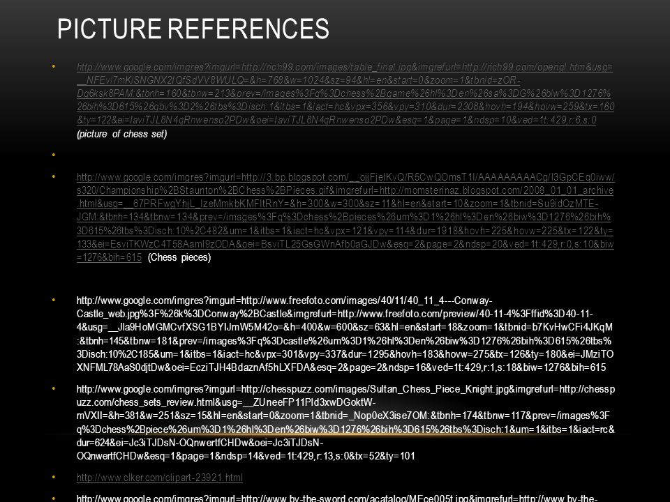 PICTURE REFERENCES http://www.google.com/imgres?imgurl=http://rich99.com/images/table_final.jpg&imgrefurl=http://rich99.com/opengl.htm&usg= __NFEvl7mK