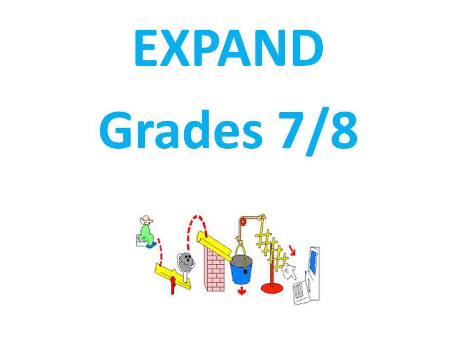 EXPAND Grades 7/8