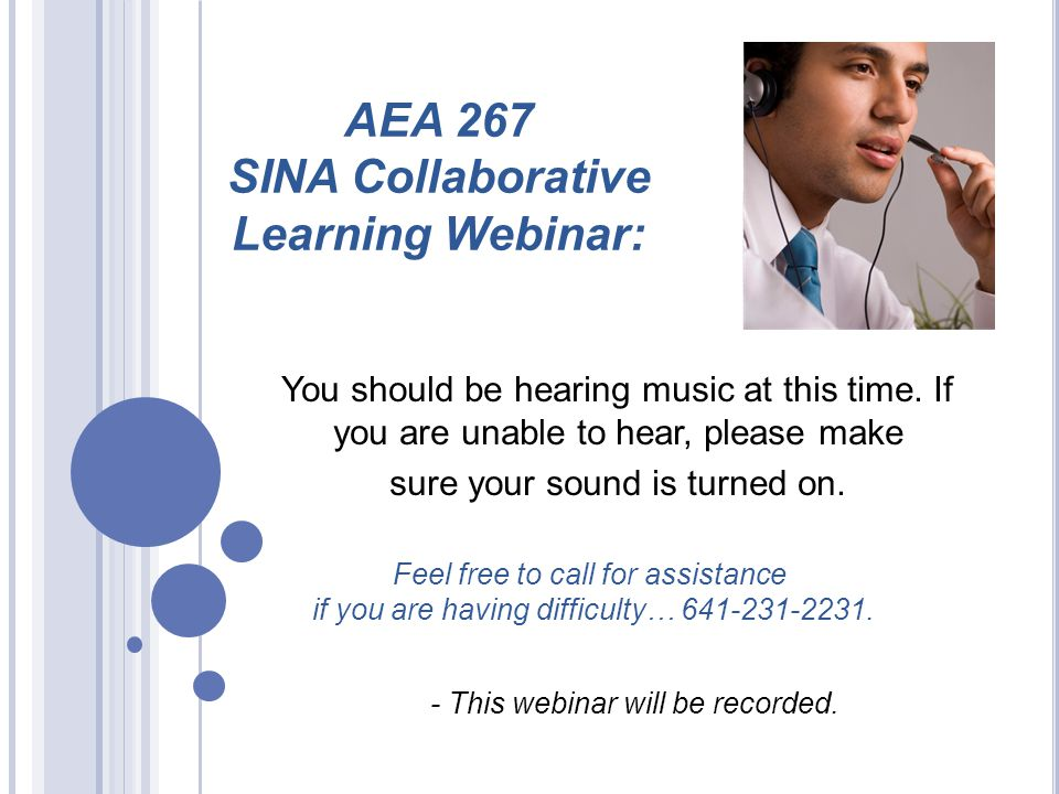 Webinar 1 Summary of Audit and Diagnosis Framing questions 1) Directive 2) Collaborative 3) Supportive Webinar 2 Summary of Peer Review Balancing Pressure and Support Webinar 3Webinar 4 Webinar 5 LEA SINA Team SINA Support System