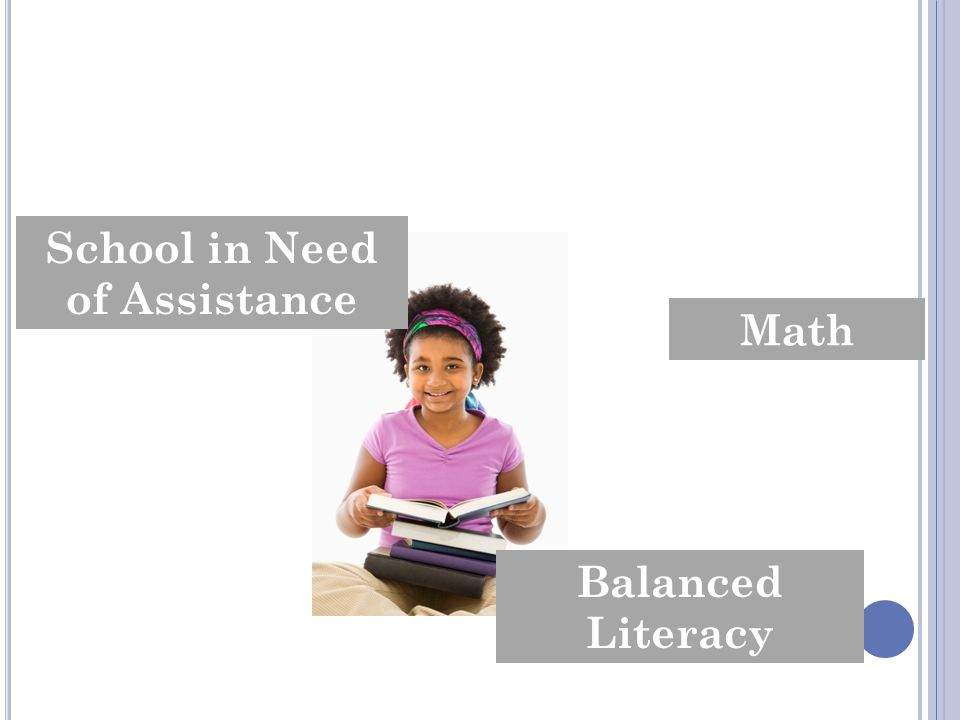 Response to Intervention Iowa Core School in Need of Assistance Balanced Literacy Math Coaching
