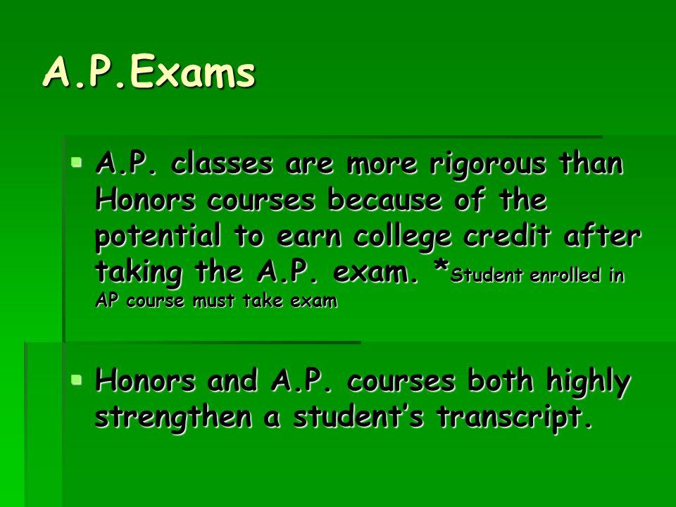 A.P.Exams  A.P.