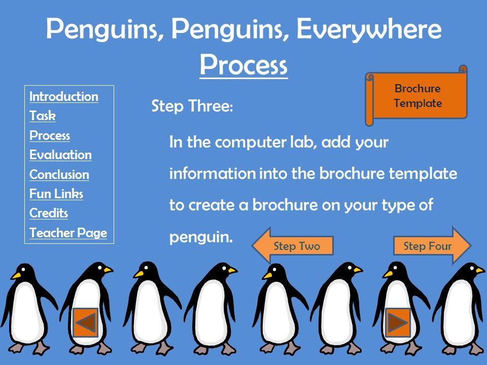 Rockhopper Penguin http://www.siec.k12.in.us/west/proj/penguins/rock.html http://www.antarcticconnection.com/antarctic/wildlife/penguins/rockhopper.shtml http://www.penguins.cl/rockhopper-penguins.htm http://www.whaletimes.org/rockhopper.htm http://en.wikipedia.org/wiki/Rockhopper_penguin http://animaldiversity.ummz.umich.edu/site/accounts/pictures/Eudyptes_ chrysocome.html http://animaldiversity.ummz.umich.edu/site/accounts/pictures/Eudyptes_ chrysocome.html http://www.d81.w- cook.k12.il.us/kennedy/asmith/penguins/rockhopper.html http://www.d81.w- cook.k12.il.us/kennedy/asmith/penguins/rockhopper.html Return to WebQuest