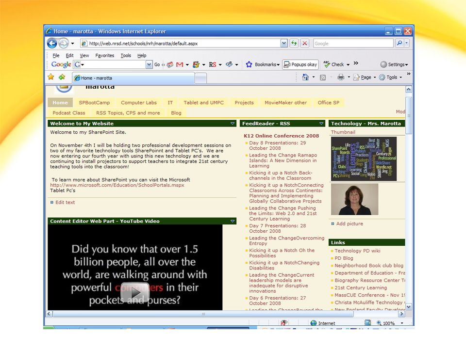 Using Designer Open your site using SharePoint Designer Edit the default.aspx file Add Welcome to My SharePoint Site as a header in the content area of the page Edit the new text: Bold, Red, 18 pt size Save the default.aspx file and review the change on your site using Internet Explorer