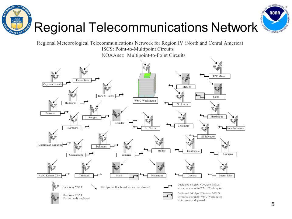 5 Regional Telecommunications Network