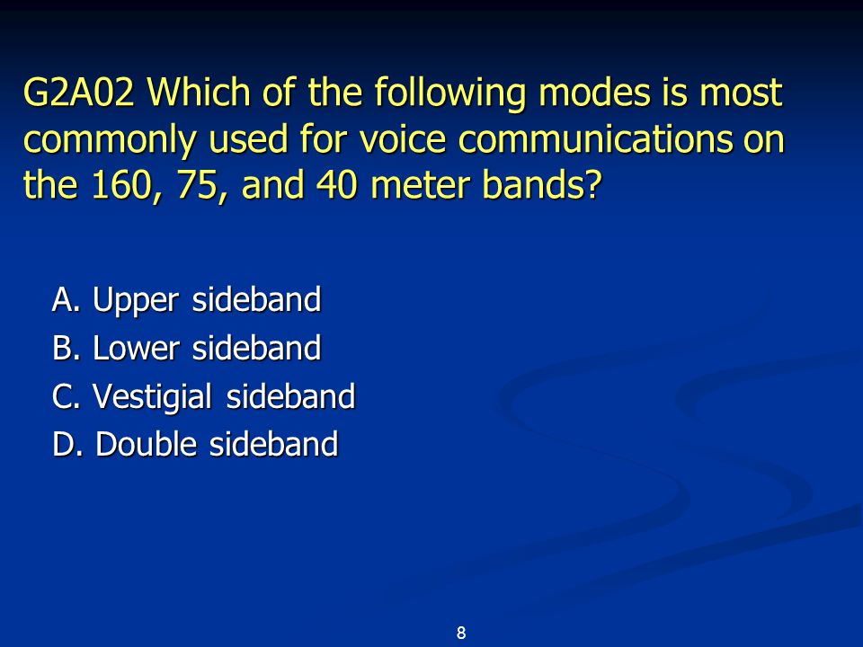 119 G2E10 What is a major advantage of MFSK16 compared to other digital modes.