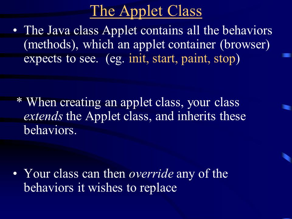 Write applet which draws triangle which moves across screen, changing color as it does… (Class website, tri3.java)