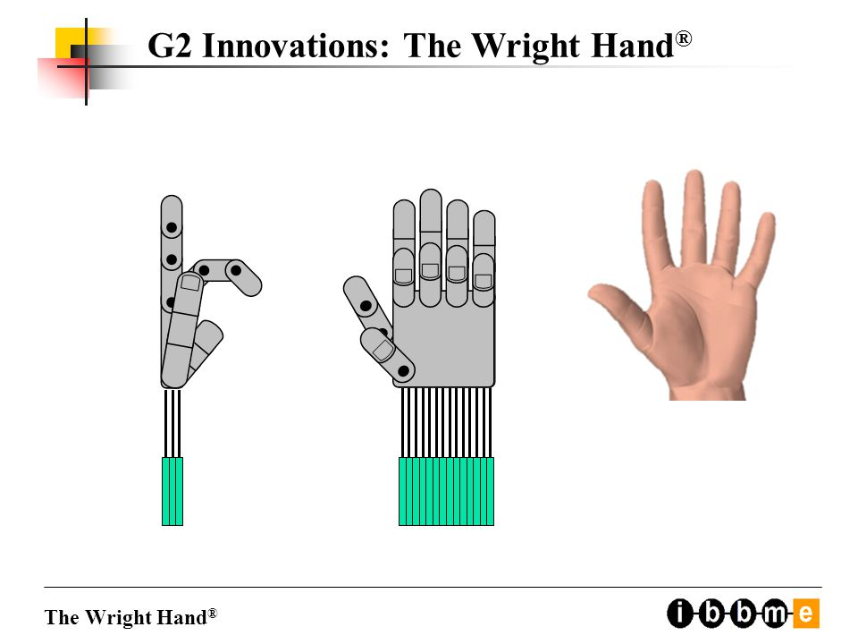 G2 Innovations: The Wright Hand ® The Wright Hand ®