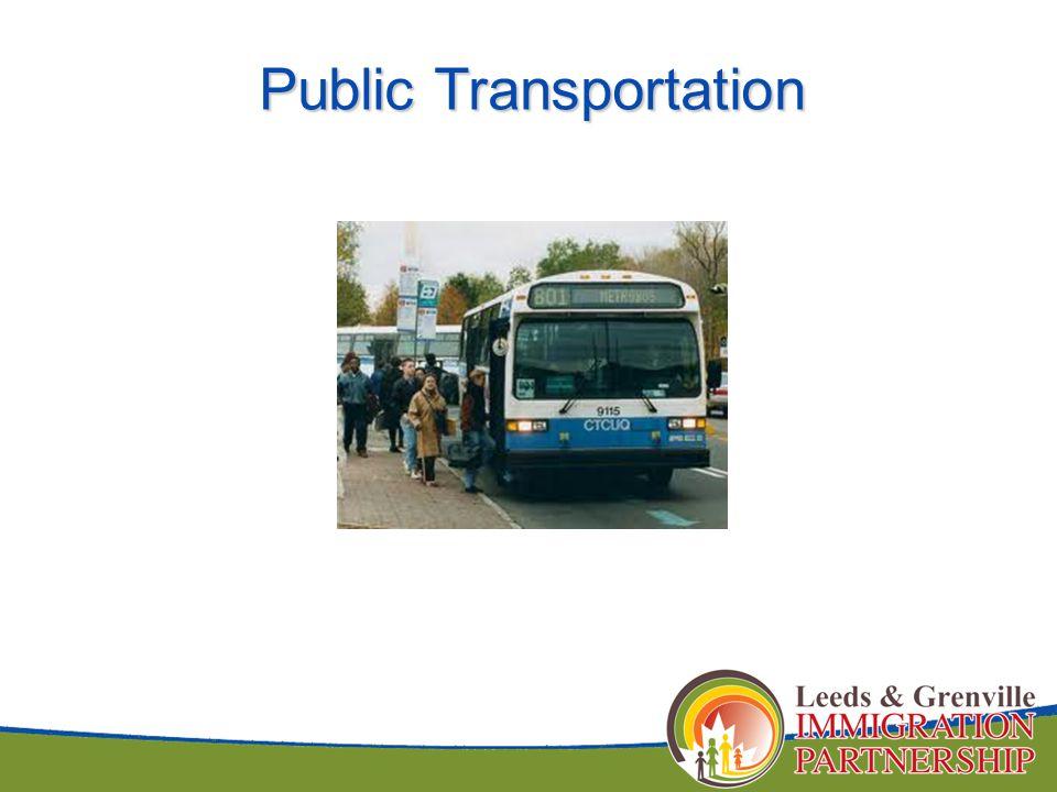 Public Transportation Public Transportation