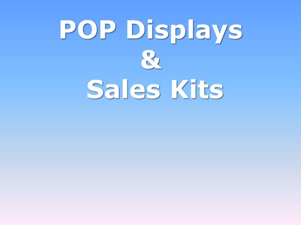 POP Displays & Sales Kits Sales Kits