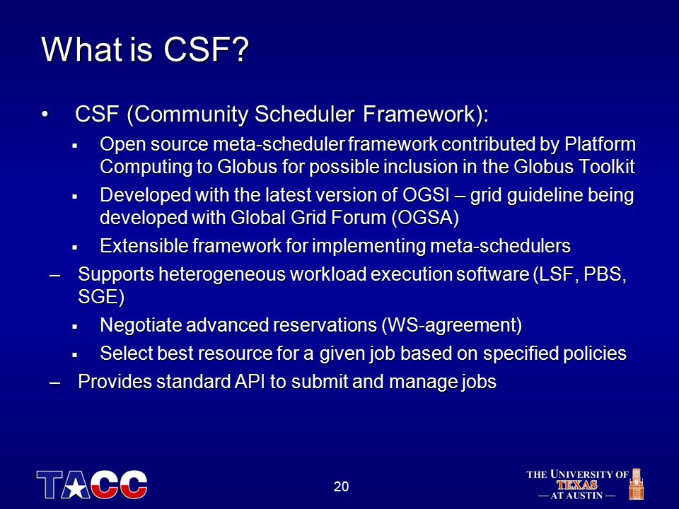 20 What is CSF.