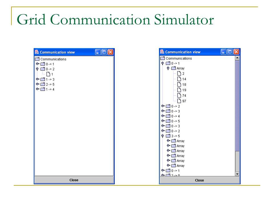 Grid Communication Simulator