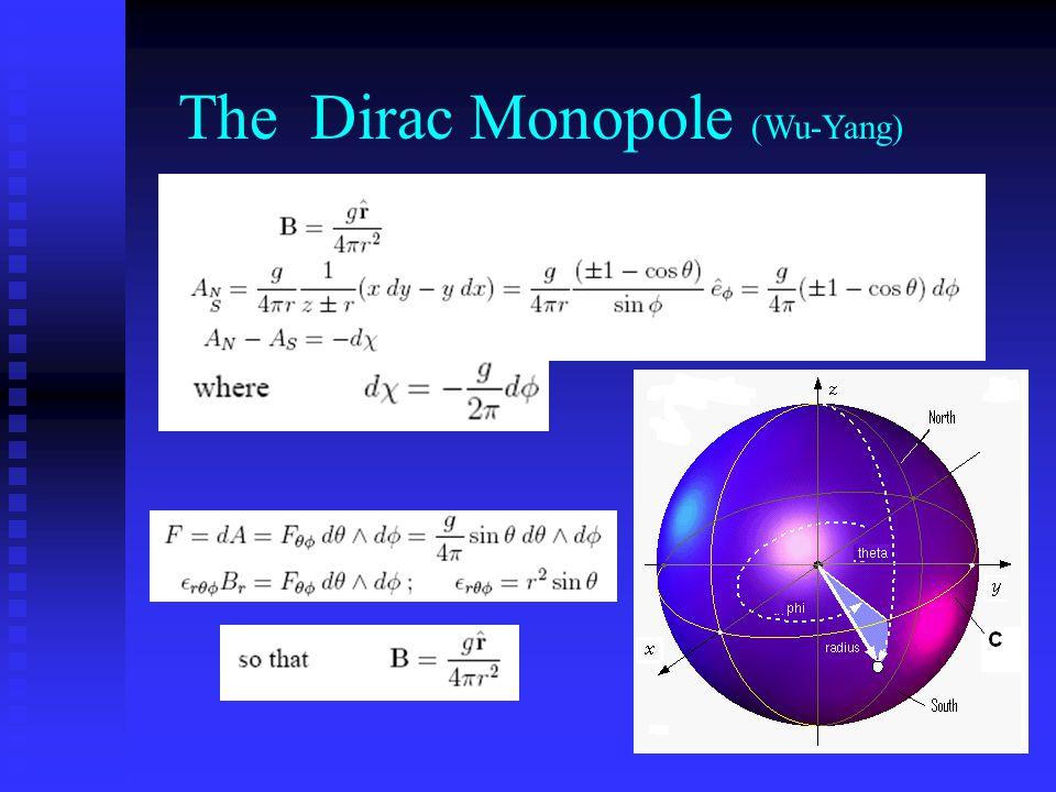The Dirac Monopole (Wu-Yang)