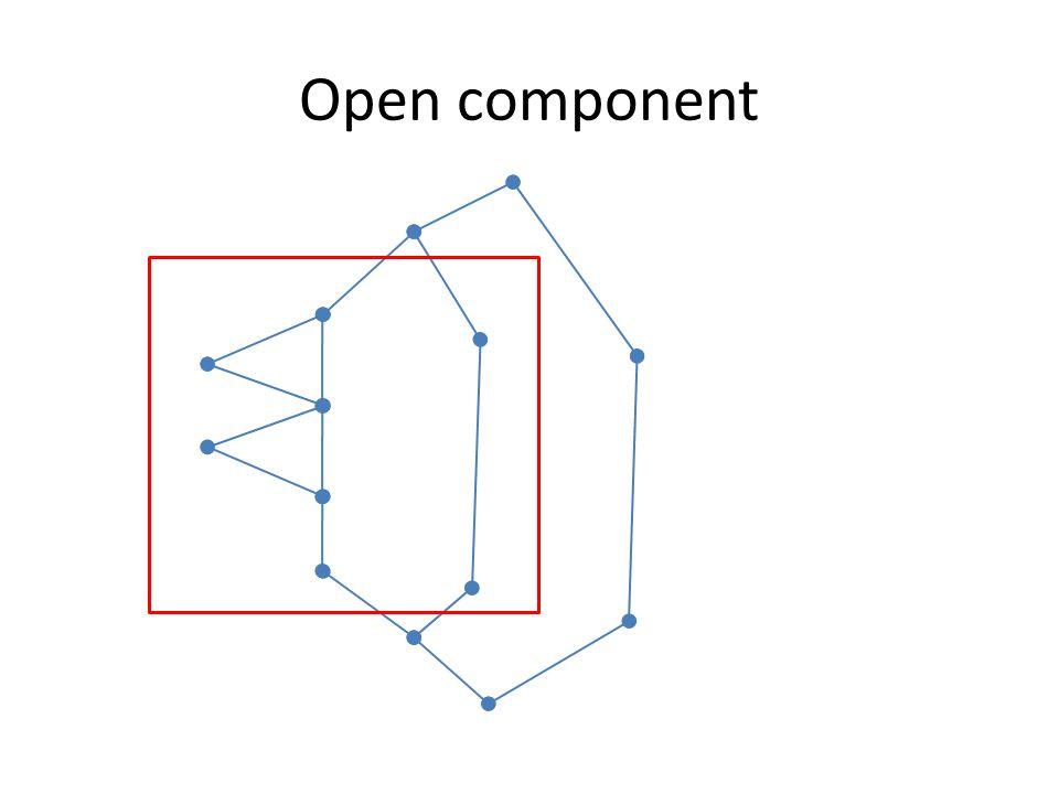 Open component