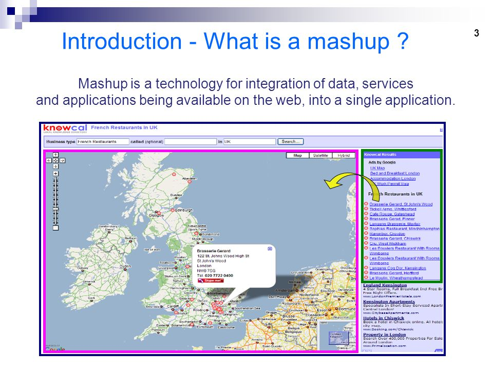 3 Introduction - What is a mashup .